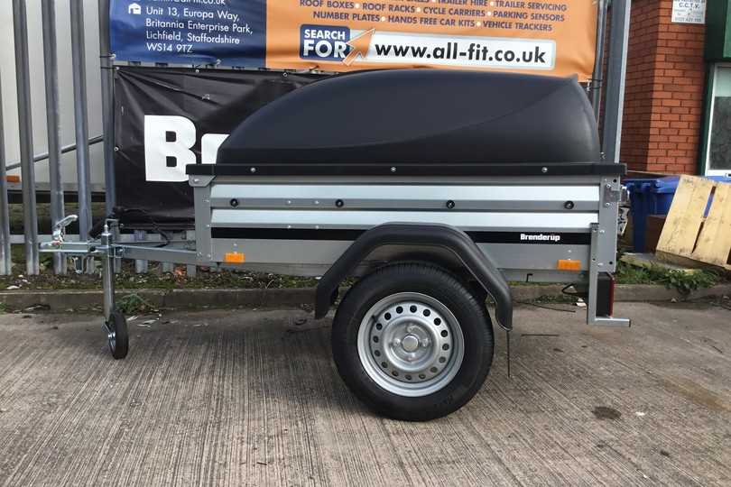 1105 Trailer & Lockable ABS Lid | All Fit Trailers